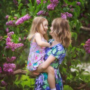фотосессия в цветущих садах