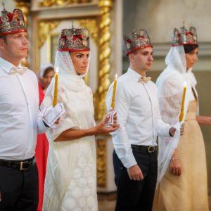 венчание в храме Большое Вознесение на Никитских воротах
