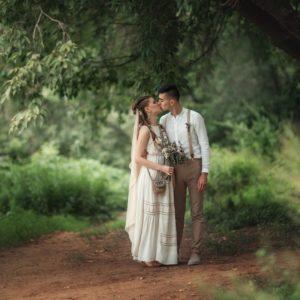 прогулка после венчания