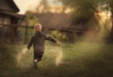 детский фотограф в деревне