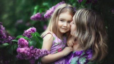 фотосессия в цветущем саду